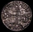 London Coins : A169 : Lot 990 : Ireland Hiberno-Norse, imitative issue of Aethelred II Long Cross type, 'Aethelred' obvers...