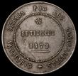 London Coins : A170 : Lot 1201 : Spain - Revolutionary Coinage 5 Pesetas 1873 KM#716, Bold Fine and rare
