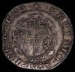 London Coins : A170 : Lot 1295 : Halfcrown Charles I Group III, Third Horseman, No caparisons on horse, scarf flies from King's ...