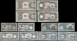 "London Coins : A170 : Lot 139 : Biafra (10) a selection of the ND 1969 ""Second"" issues in 2 complete denomination sets and..."