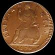 London Coins : A170 : Lot 1463 : Farthing 1679 Peck 530 Choice UNC and toned in an LCGS holder and graded LCGS 82, Ex-Andrew Wayne Co...