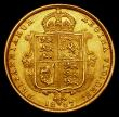 London Coins : A170 : Lot 1658 : Half Sovereign 1887 Jubilee Head, Imperfect J in J.E.B Marsh 478C, S.3869, DISH 501 GEF with a thin ...