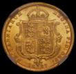 London Coins : A170 : Lot 1659 : Half Sovereign 1887 Jubilee Head, Imperfect J in J.E.B. Marsh 478C, DISH L508 UNC and lustrous, a ch...