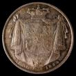 London Coins : A170 : Lot 1766 : Halfcrown 1834 WW in script ESC 662 UNC with a superb and colourful tone, in an LCGS holder and grad...