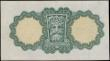 London Coins : A170 : Lot 186 : Ireland (Republic) Currency Commission Lady Lavery 1 Pound 'War Code' Letter P in brown Pi...