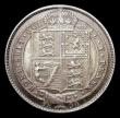 London Coins : A170 : Lot 2020 : Shilling 1890 ESC 1357, Bull 3144 UNC and with an attractive golden tone, in an LCGS holder and grad...
