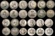 London Coins : A170 : Lot 2574 : A retired dealers ex-retail stock (24) World 19th and 20th Century in silver, a range of countries i...
