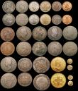 London Coins : A170 : Lot 2584 : A retired dealers ex-retail stock (35) World 18th to 20th Century with two Indian Gold Fanams and ma...