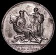 London Coins : A170 : Lot 359 : Coronation of George I 1714 34mm diameter in silver by J.Croker, Eimer 470 the official Coronation i...