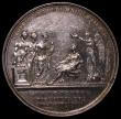 London Coins : A170 : Lot 361 : Coronation of King George IV 1821 35mm diameter in silver, by J.Croker, Eimer 1146 The official Roya...