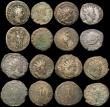 London Coins : A170 : Lot 438 : Roman Antoninianus (15) a good mix of Emperors VF or better