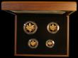 London Coins : A170 : Lot 467 : Britannia Gold Proof Set 2011 the Four coin set comprising £100 One Ounce, £50 Half Ounc...