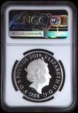 London Coins : A170 : Lot 525 : Five Pound Crown 2019 200th Anniversary of the Birth of Queen Victoria, the reverse an intricate and...