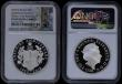 London Coins : A170 : Lot 540 : Five Pound Crowns 2018 65th Anniversary of the Coronation of Queen Elizabeth II S.L61 Silver Proof P...