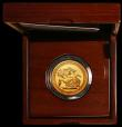 London Coins : A170 : Lot 551 : Five Pounds Gold 2017 S.SE15 BU in the Royal Mint box of issue with certificate and booklet, only 10...