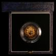 London Coins : A170 : Lot 562 : Half Sovereign 1989 500th Anniversary of the First Gold Sovereign Proof FDC in the box of issue with...
