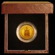 London Coins : A170 : Lot 637 : Sovereign 1989 500th Anniversary of the First Gold Sovereign Proof FDC in the box of issue with cert...