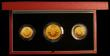 London Coins : A170 : Lot 706 : The 1989 United Kingdom Gold Proof Set 500th Anniversary of the Gold Sovereign, the three coin set D...