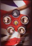 London Coins : A170 : Lot 799 : Gibraltar 2015 Winston Churchill - Inspiration to a Nation a 6-coin set comprising Ten Pounds 2015 O...
