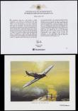 London Coins : A170 : Lot 807 : Guernsey £25 2008 Gold BU Dambusters Raid in Harrington and Byrne's Coin and Stamp Cover
