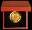 London Coins : A170 : Lot 815 : Hong Kong $1,000 1981 Cockerel Gold Proof nFDC in the Royal Mint's red box with certificate