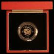London Coins : A170 : Lot 818 : Hong Kong $1000 1977 Year of the Snake KM#42 Gold Proof FDC in the red case of issue with certificat...