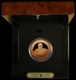 London Coins : A170 : Lot 837 : Jersey Five Pounds 2006 Sir Winston Churchill Gold Proof FDC in the Royal Mint box of issue with cer...