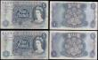 London Coins : A170 : Lot 88 : Five Pounds Fforde QE2 portrait & seated child Britannia 1967 (5) a presentable circulated group...