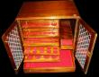 London Coins : A171 : Lot 1164 : Coin Cabinet Professionally made, 30 trays, and an additional three drawers with all felts, and spac...