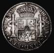 London Coins : A171 : Lot 1180 : Engraved Mexico 8 Reales Mo FM, undated (1778-1795) Fine, the obverse engraved with the ship HMS Syb...