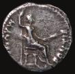 London Coins : A171 : Lot 1202 : Denarius Tiberius (17-21AD) 'Tribute' Penny. Obverse: Bust right, laureate. Reverse: Livia...