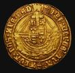 London Coins : A171 : Lot 1210 : Angel Henry VIII First Coinage (1509-1526) S.2265 mintmark Portcullis 5.14 grammes Obverse as Schnei...