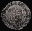 London Coins : A171 : Lot 1211 : Crown Charles I Tower Mint Under King Class 1a mint mark Cross Calvary VG-Fine edges a little ragged...