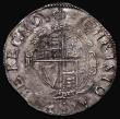 London Coins : A171 : Lot 1254 : Shilling Charles I Group D, Fourth Bust, type 3a, No inner circles, Reverse: Round garnished shield ...