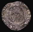 London Coins : A171 : Lot 1255 : Shilling Charles I Group D, Fourth Bust, type 3a, No inner circles, Reverse: Round garnished shield ...