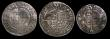London Coins : A171 : Lot 1263 : Shillings (2) and Sixpence Edward VI (3) Shilling Edward VI Fine Silver issue S.2482 mintmark Tun, 5...