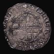 London Coins : A171 : Lot 1266 : Sixpence Charles I Group D, Fourth Bust, type 3a, No inner circles, Reverse: Oval Garnished Shield, ...