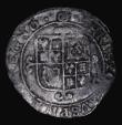 London Coins : A171 : Lot 1268 : Sixpence Charles I Group F, Sixth 'Briot' Bust, type 4.3, mintmark (P)/(P) over Triangle i...