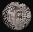 London Coins : A171 : Lot 1273 : Sixpence Elizabeth I 1573 S.2562 mintmark Eglantine, 2.38 grammes, VG with uneven toning, a Very Rar...