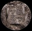 London Coins : A171 : Lot 1278 : Sixpence Elizabeth I Milled Issue 1562 Large Broad Bust with elaborately decorated dress, Small Rose...