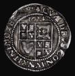 London Coins : A171 : Lot 1284 : Sixpence James I 1624 Third Coinage, Sixth Bust, S.2670 mintmark Trefoil, 2.47 grammes, Fine with th...