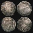 London Coins : A171 : Lot 1287 : Sixpences Charles I (4) Group E, Fifth Aberystwyth Bust, type 4.1, S.2814, mintmark Anchor (Horizont...