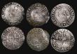 London Coins : A171 : Lot 1295 : Sixpences Elizabeth I (7) 1561 Smaller Bust 1F, S.2560, 2.53 grammes, Poor/Fair, 1561 Bust 3D, S.255...