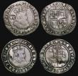 London Coins : A171 : Lot 1297 : Sixpences James I (5) 1605 Second Coinage, Third Bust, S.2657 mintmark Lis, 1.97 grammes, VG/Fine, c...