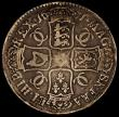 London Coins : A171 : Lot 1308 : Crown 1671 VICESIMO TERTIO, ESC 43, Bull 386, VG, the reverse better, with some double striking to t...