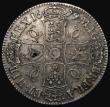 London Coins : A171 : Lot 1309 : Crown 1679 Fourth Bust TRICESIMO PRIMO ESC 57, Bull 405, Good Fine or better with some haymarking an...