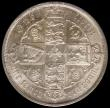 London Coins : A171 : Lot 1386 : Florin 1884 ESC 860 Unc with subdued mint brilliance and grade 78 by LCGS