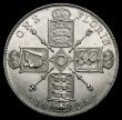 London Coins : A171 : Lot 1392 : Florin 1926 ESC 945, Bull 3778 A lustrous example the obverse with an excellent strike. A most pleas...