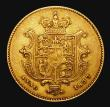 London Coins : A171 : Lot 1462 : Half Sovereign 1837 Marsh 413 About VF/Good Fine and problem-free, all William IV Half Sovereigns sc...