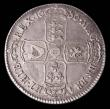 London Coins : A171 : Lot 1502 : Halfcrown 1686 SECVNDO edge ESC 494 EF and graded 60 by LCGS